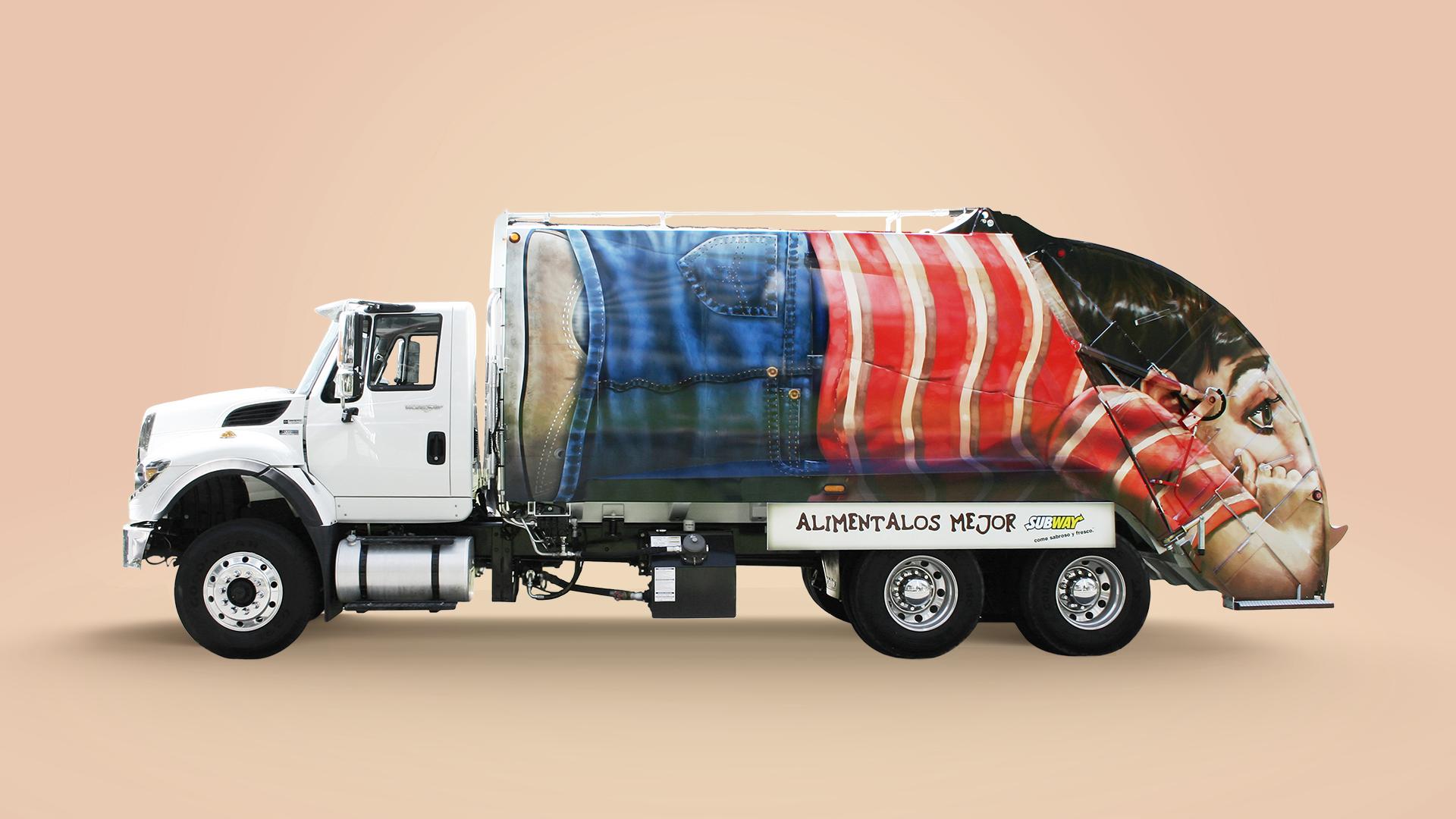 Subway Dump Truck