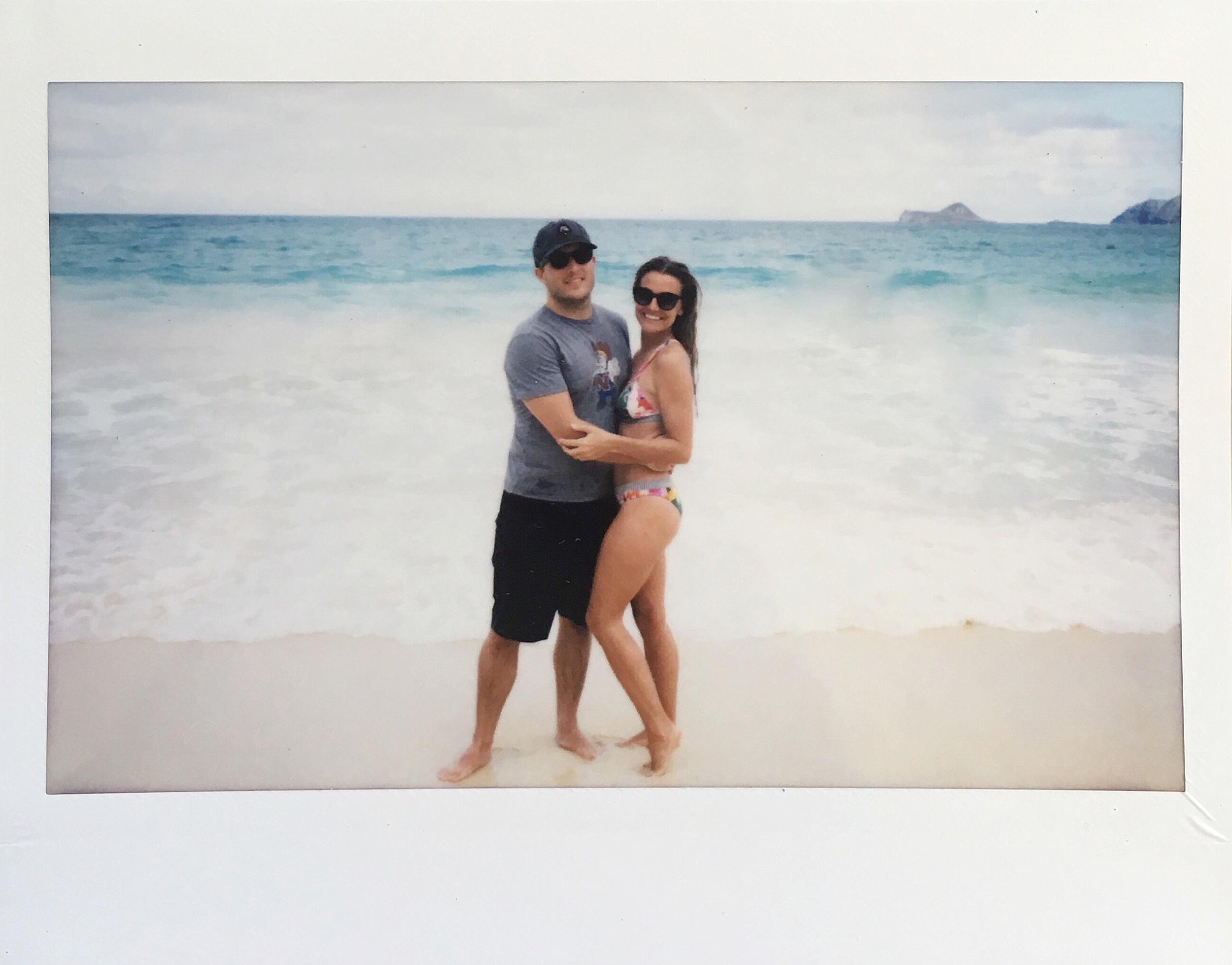 Hawaii Beach Polaroid