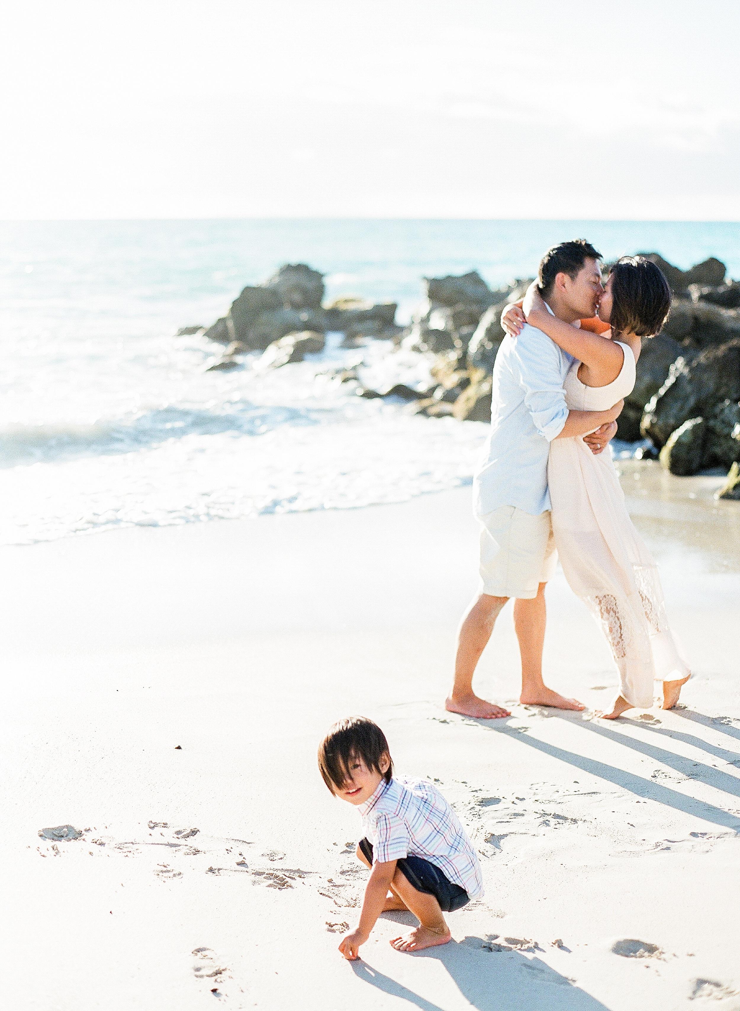 Caroline Tran Hawaii Family Photo
