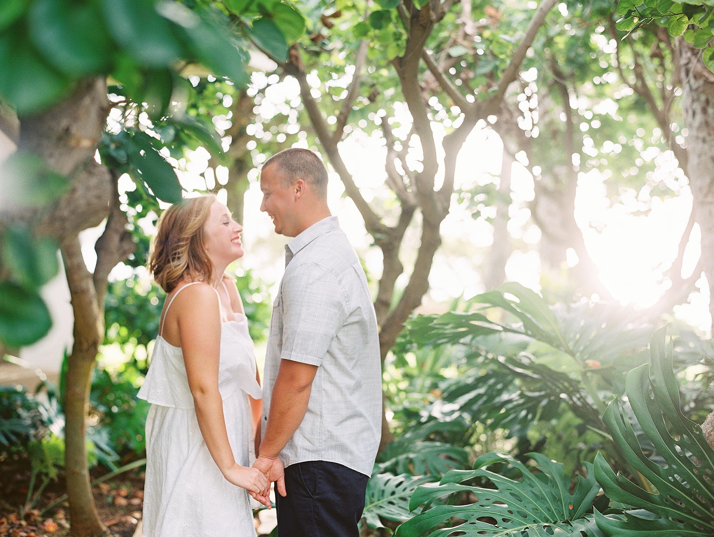 Turtle Bay Oahu Hawaii Couple's Photo