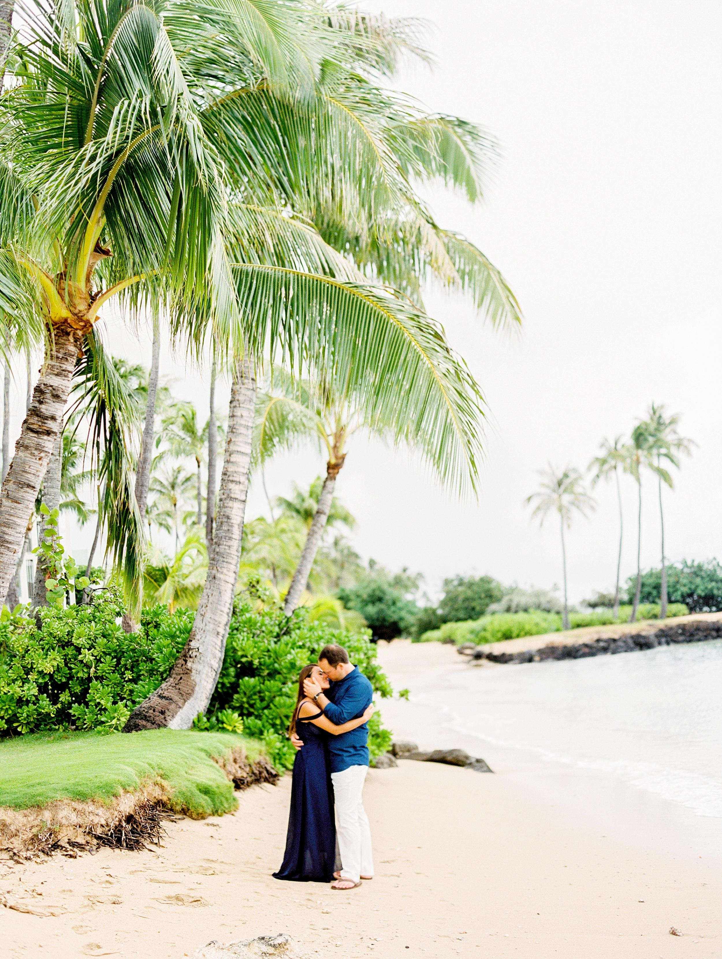 Kahala Waialea Beach Hawaii Engagement Photo_0004.jpg