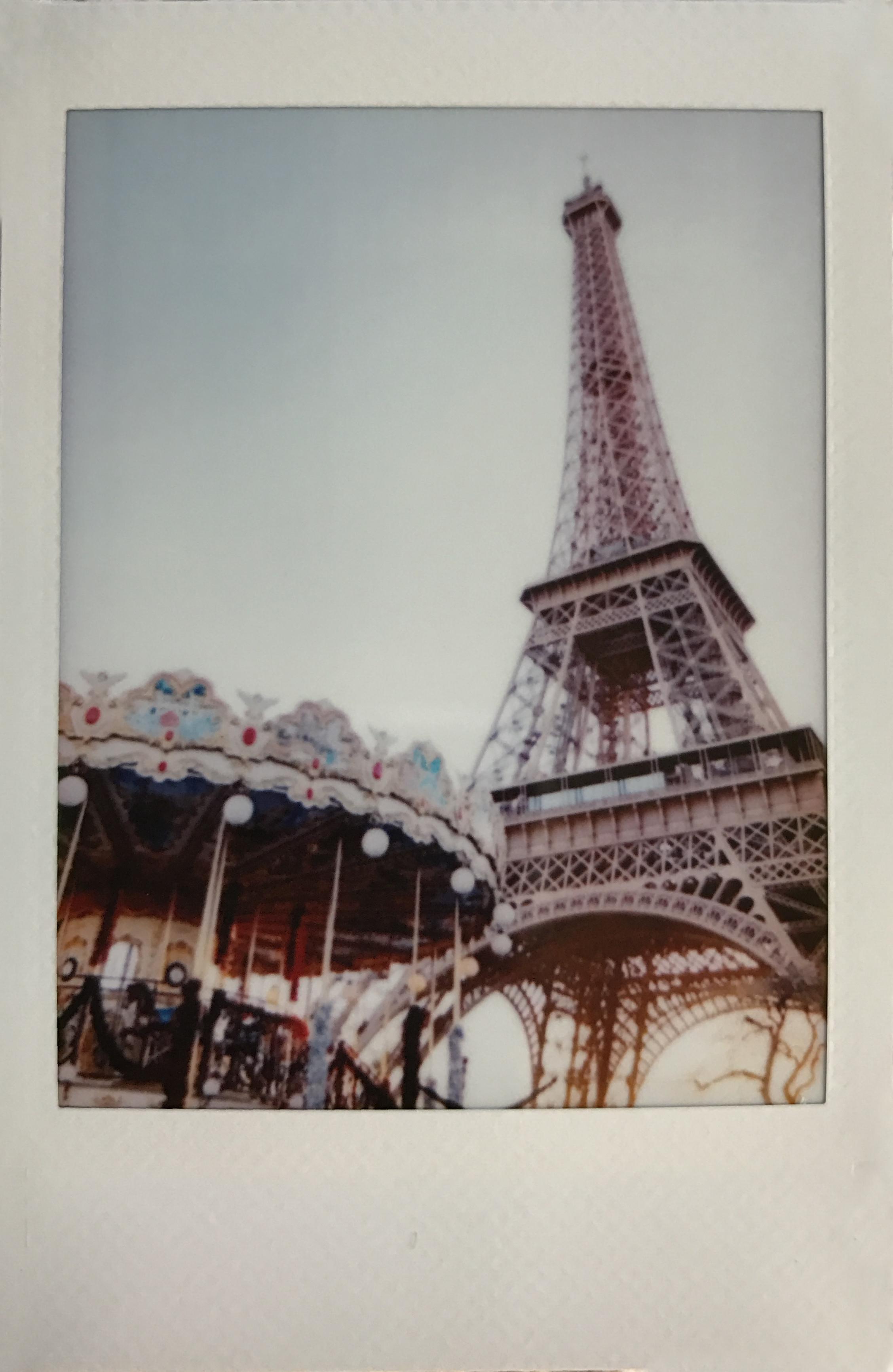 Eiffel Tower Carousel Polaroid by Ashley Goodwin.JPG