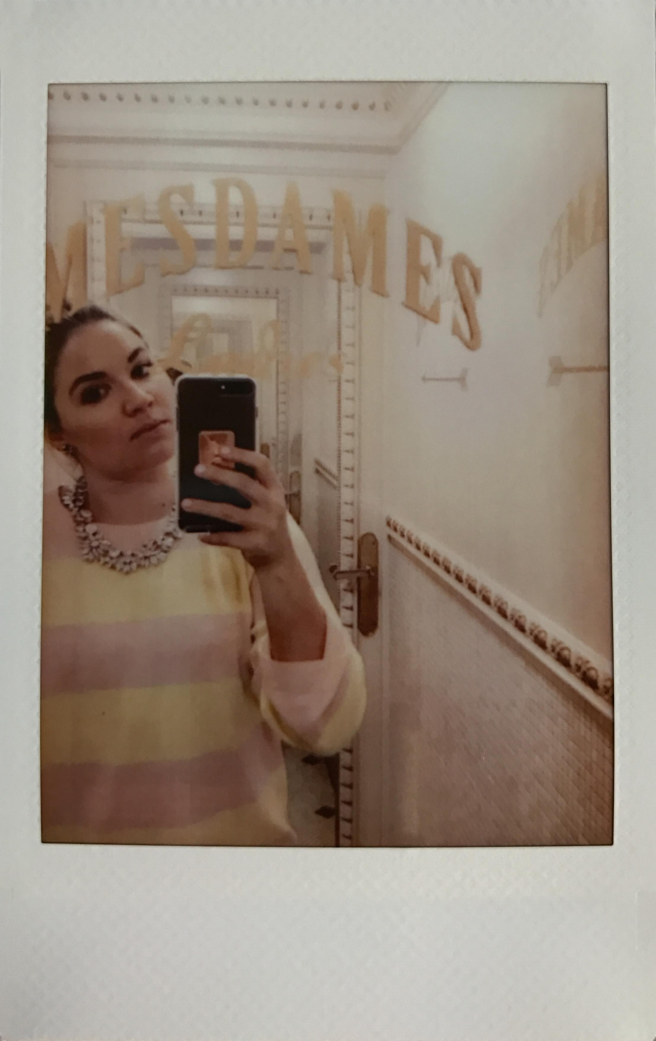 Angelina Travel Paris Polaroid Ashley Goodwin