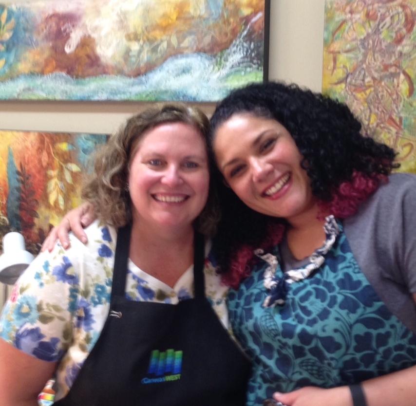 Linda Robertson & Bethany