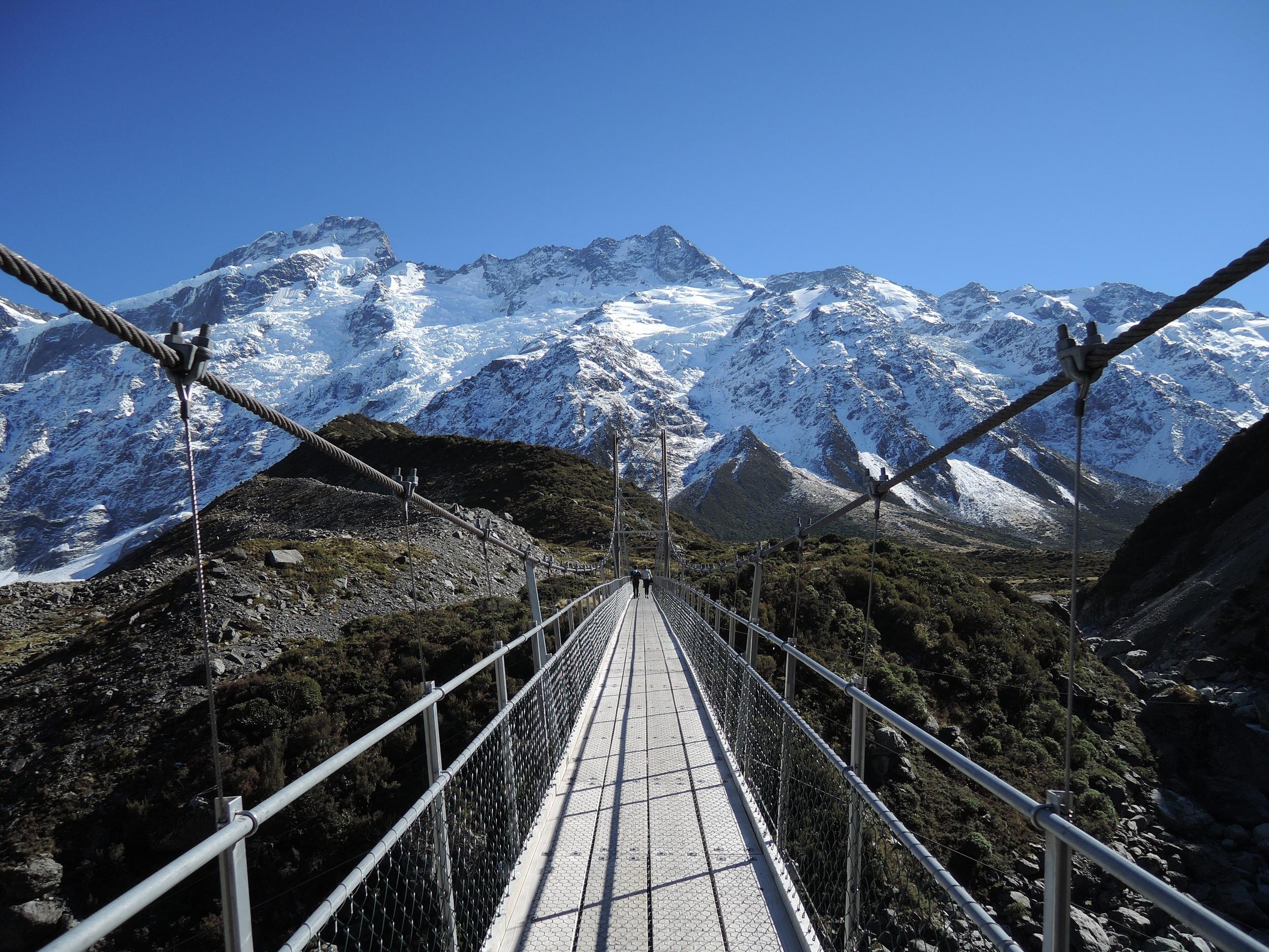 Hooker Valley, New Zealand