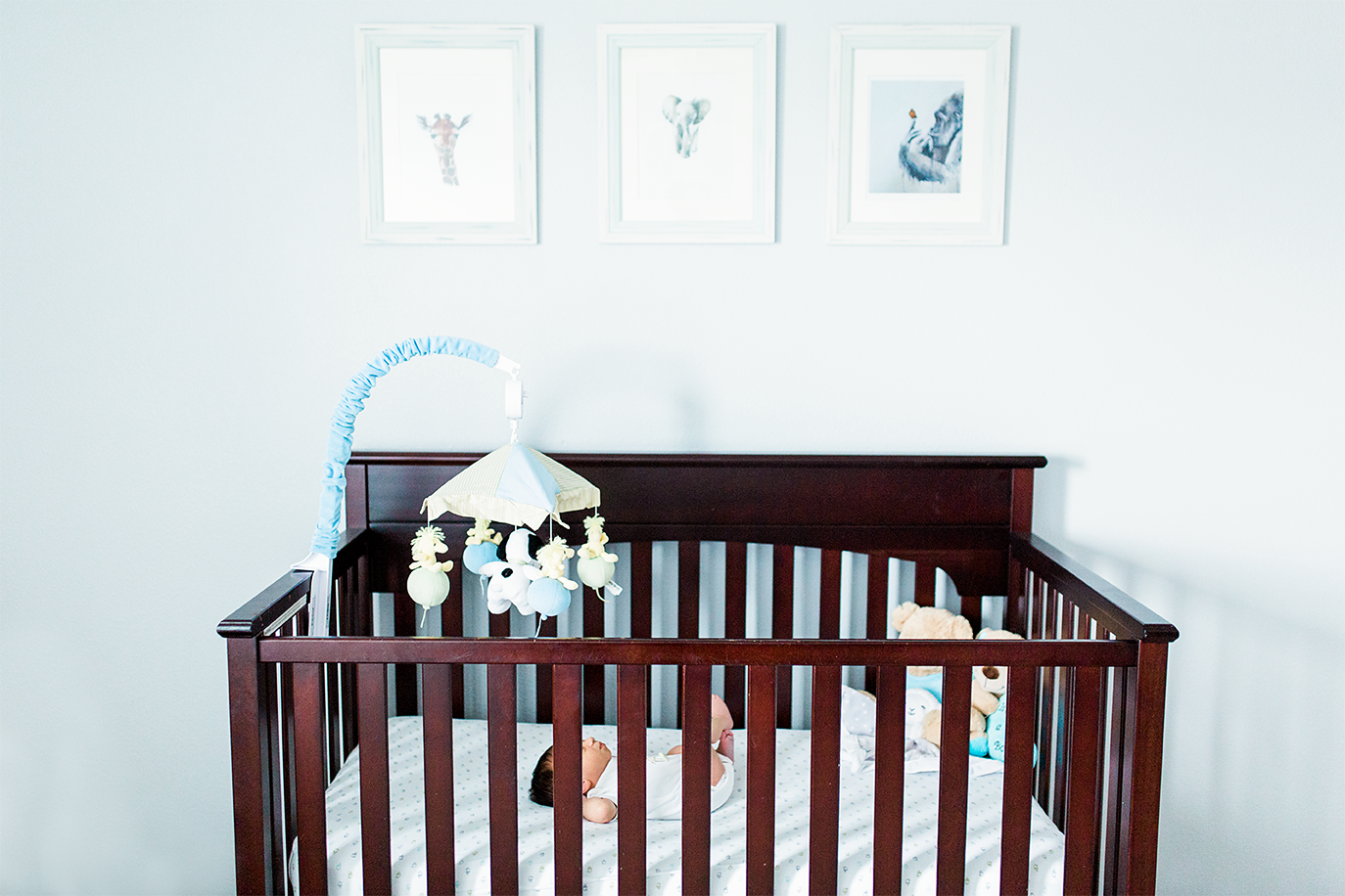 Baby pictures | sleeping in a crib