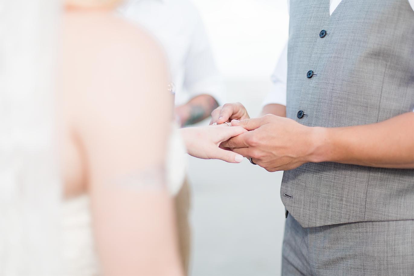 Wedding ring | Driftwood beach