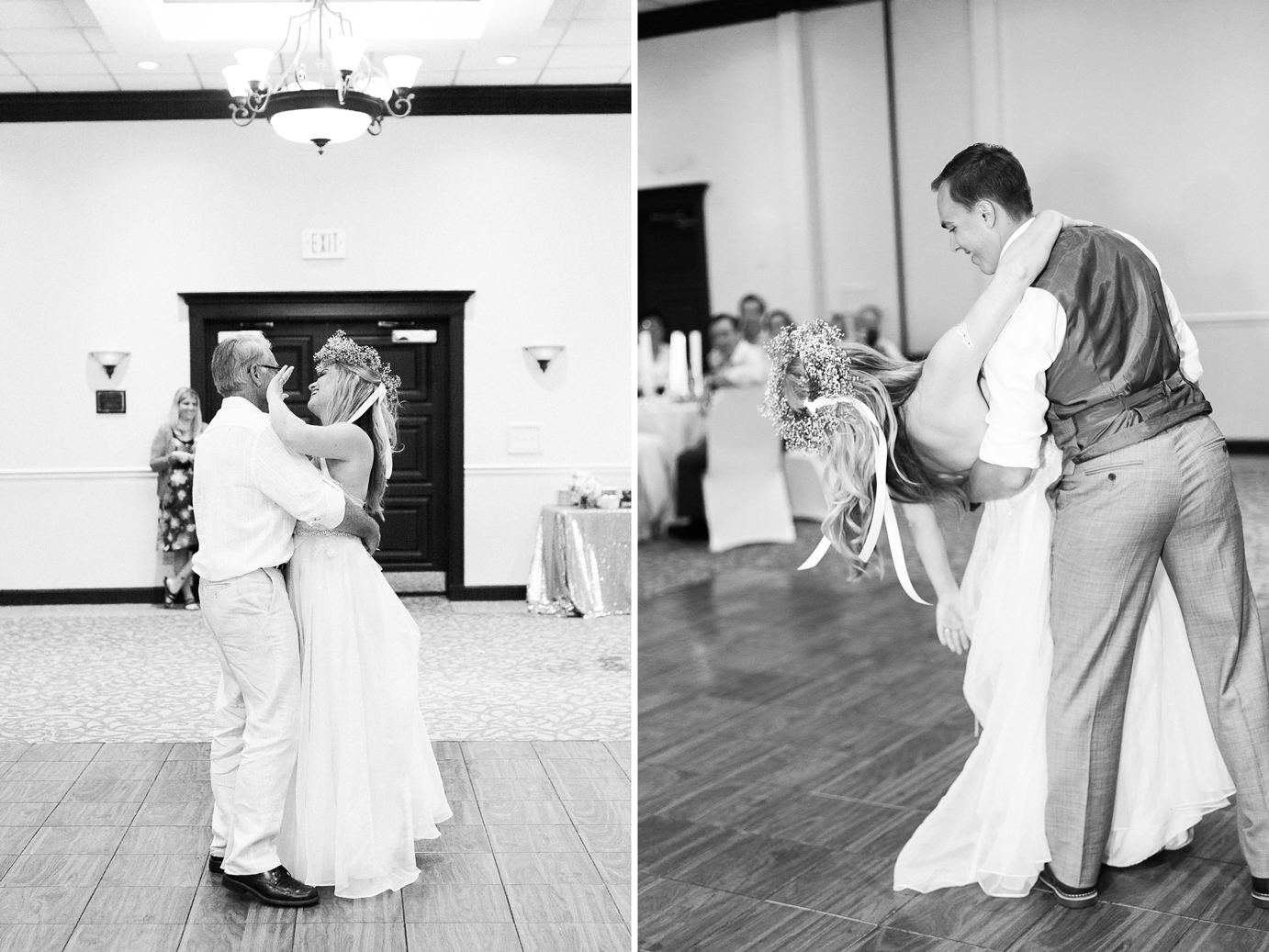 First dance and father-daughter dance in a wedding | Jekyll Island, GA