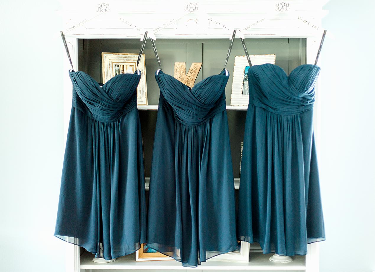 Bridesmaids dresses by Debra's Bridal