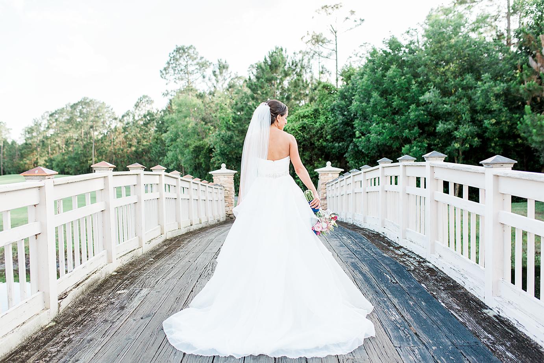 stunning bride in her Love Bridal Boutique wedding dress