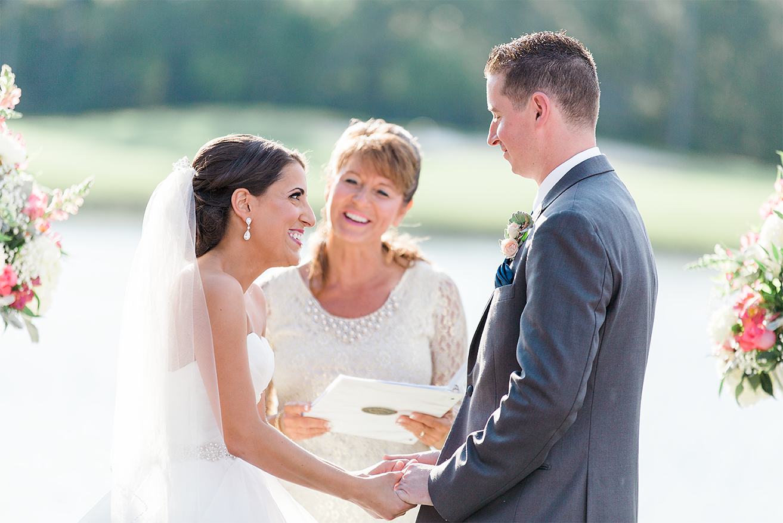 "bride and groom said ""i do"""
