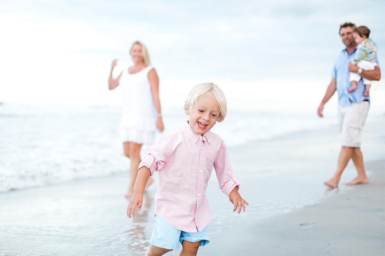 Family photoshoot in Ponte Vedra Beach, FL