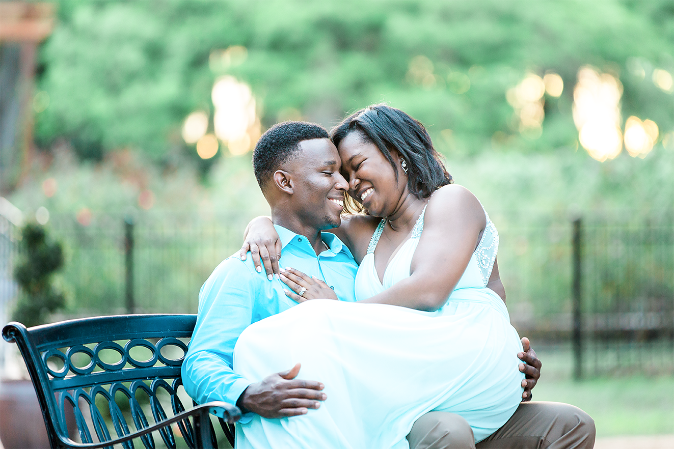 engagement pictures in washington oaks gardens