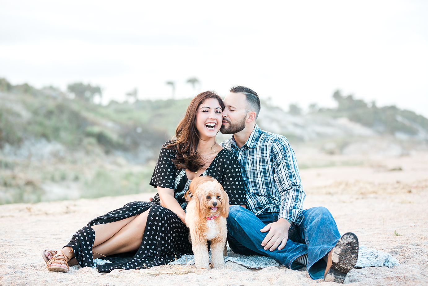 Engagement photography in Ponte Vedra beach