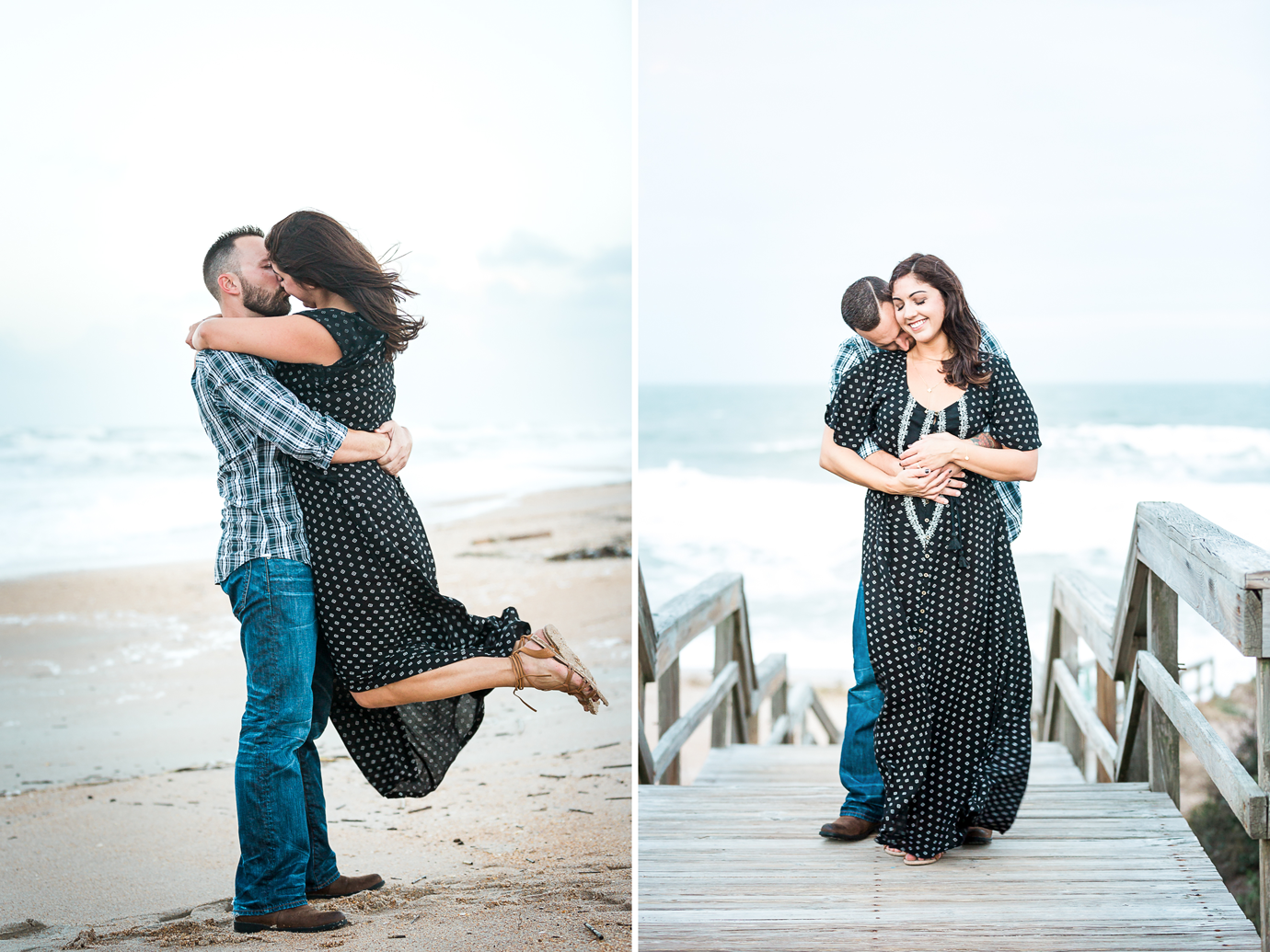 Beach engagement photo ideas_ Ponte Vedra Beach