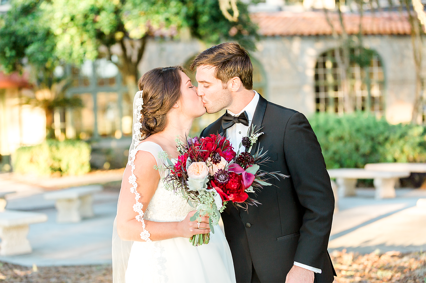 bride and groom in the bolles school_jacksonville fl wedding photographer.png