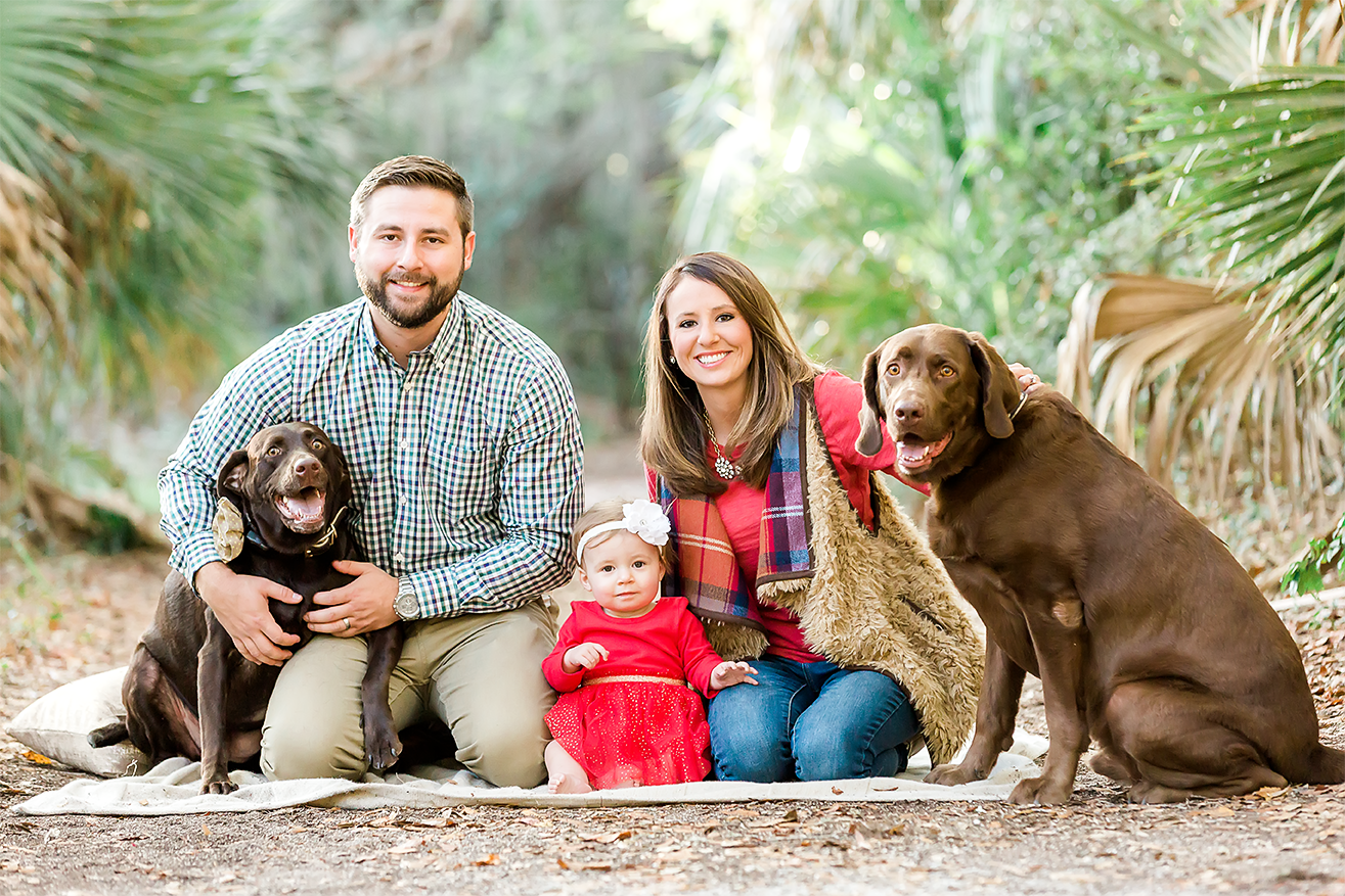 family photos in hanna park. Jacksonville and Ponte Vedra family photographer