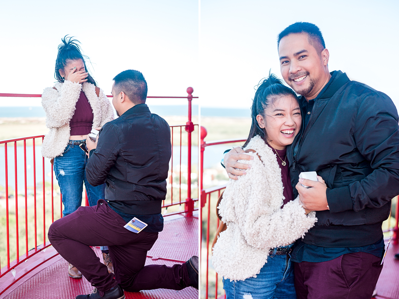 st.augustine lighthouse surprise proposal