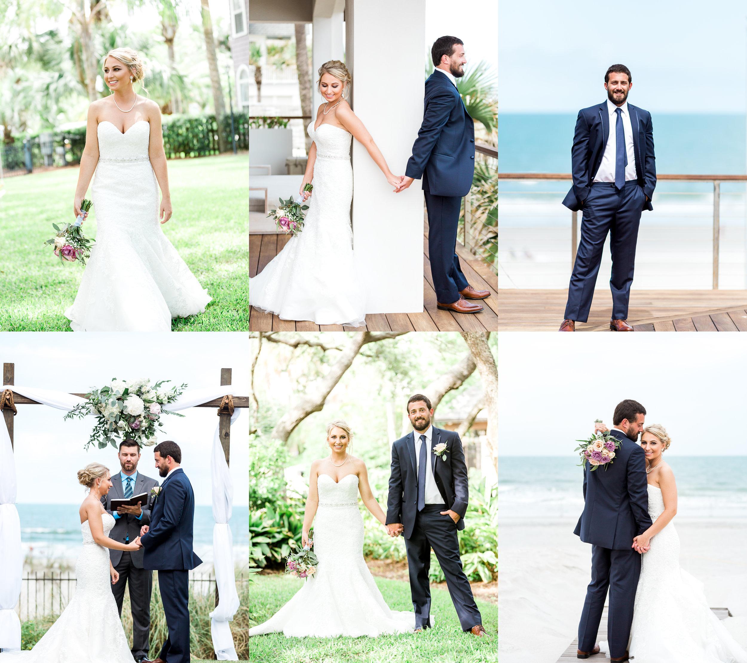 Atlantic beach wedding_bride and groom picture ideas. Jacksonville, St.Augustine and Amelia Island wedding photographer