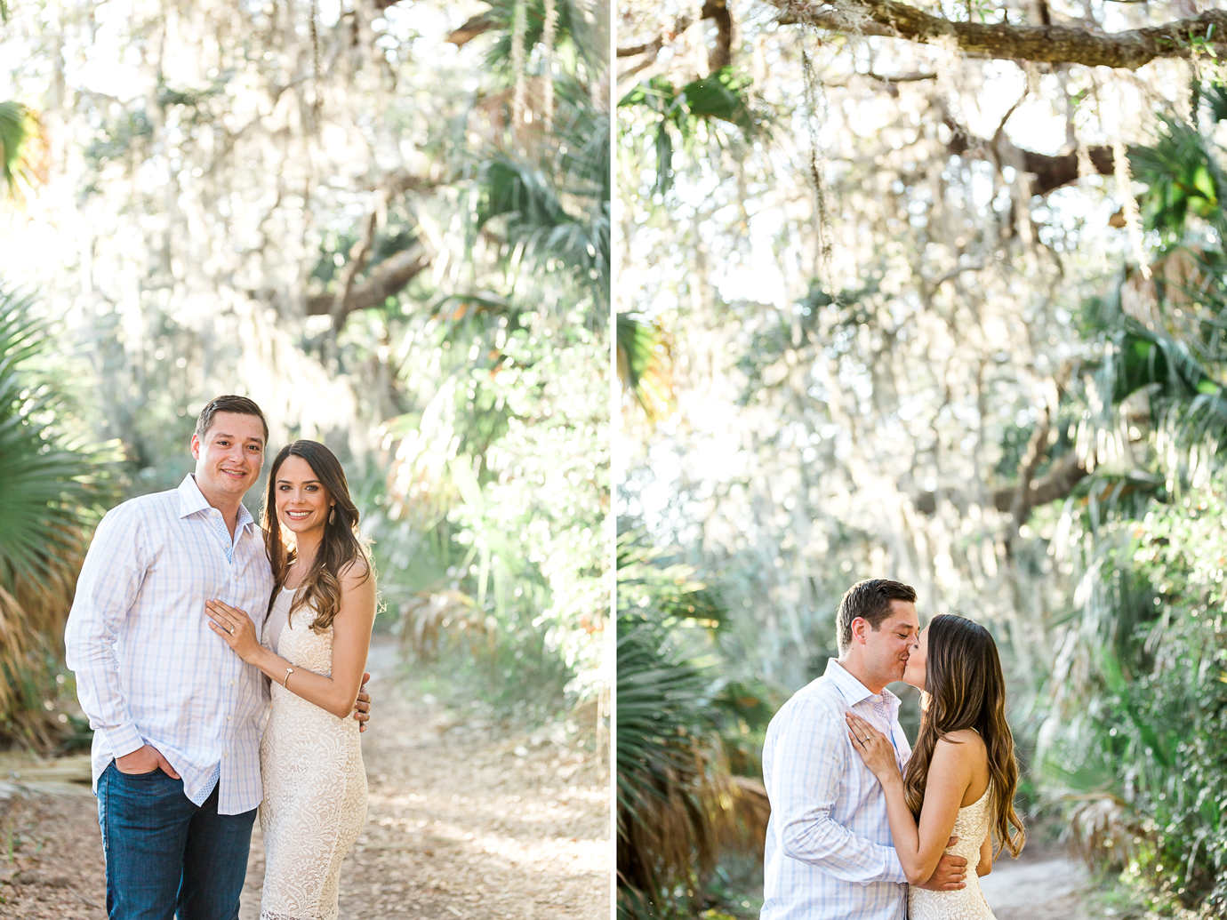 engagement session in hanna park