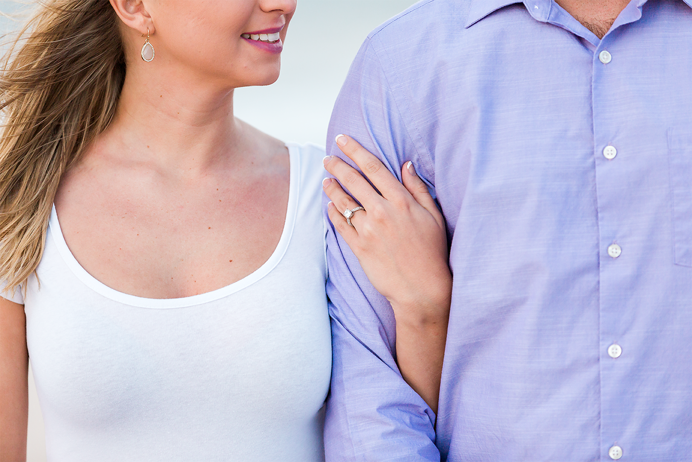 st.augustine beach engagement session
