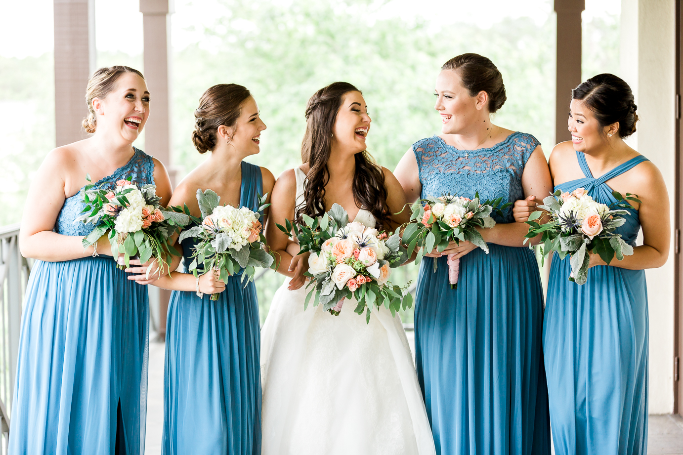 Bride and bridesmaids picture ideas. Nocatee Crosswater Hall