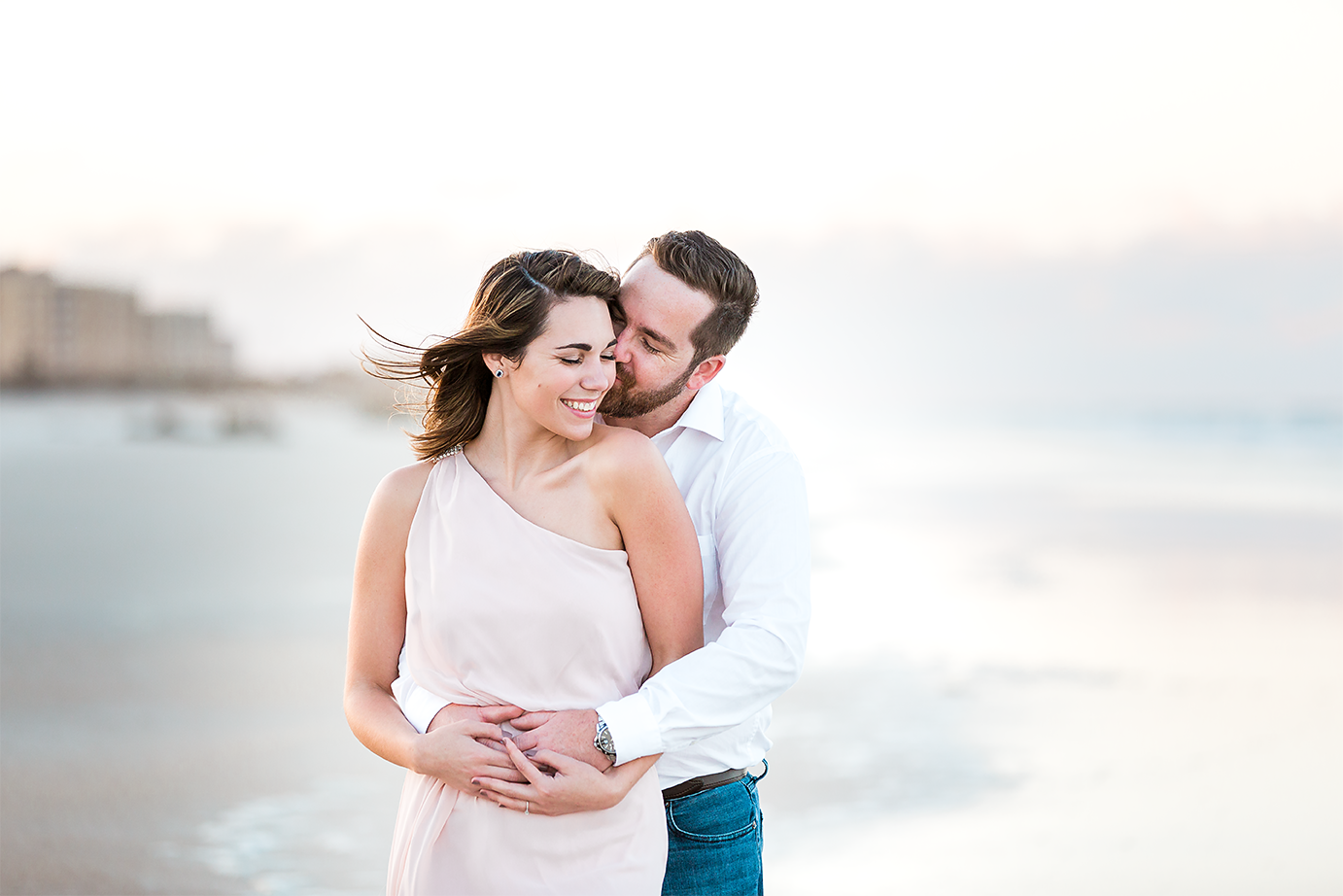 engagement picture inspiration. beach photoshoot in st.augustine