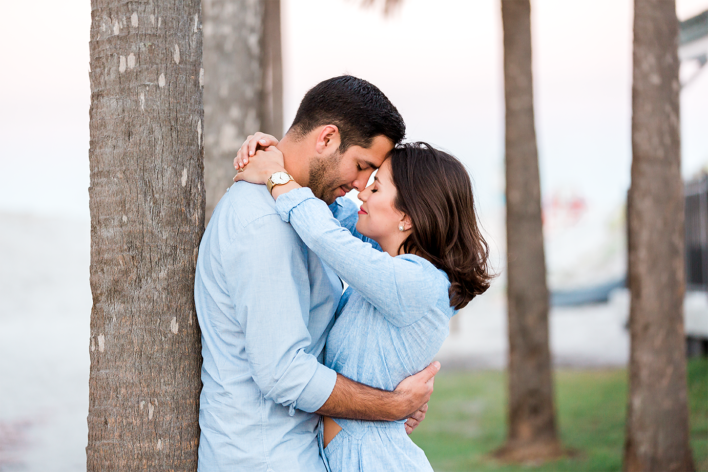 ponte vedra engagement session at the beach