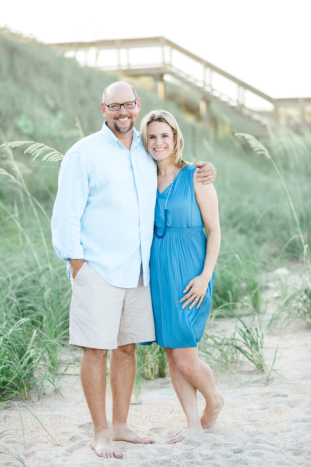 Engagement session in Ponte Vedra beach