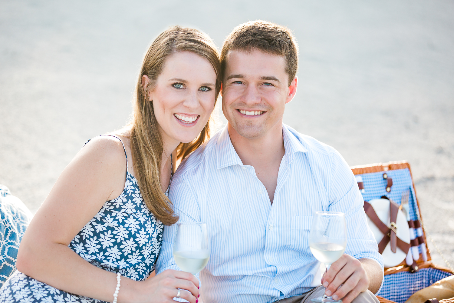 st.augustine beach engagement pictures