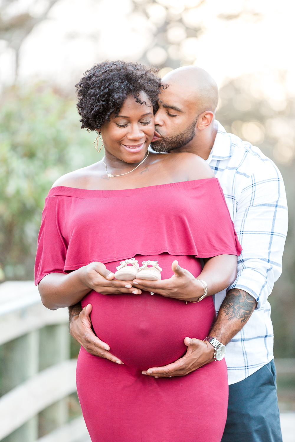 maternity pictures in hanna park, jacksonville fl