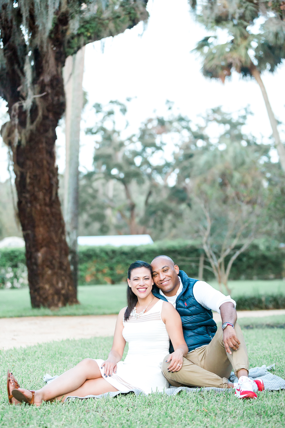 north florida engagement session
