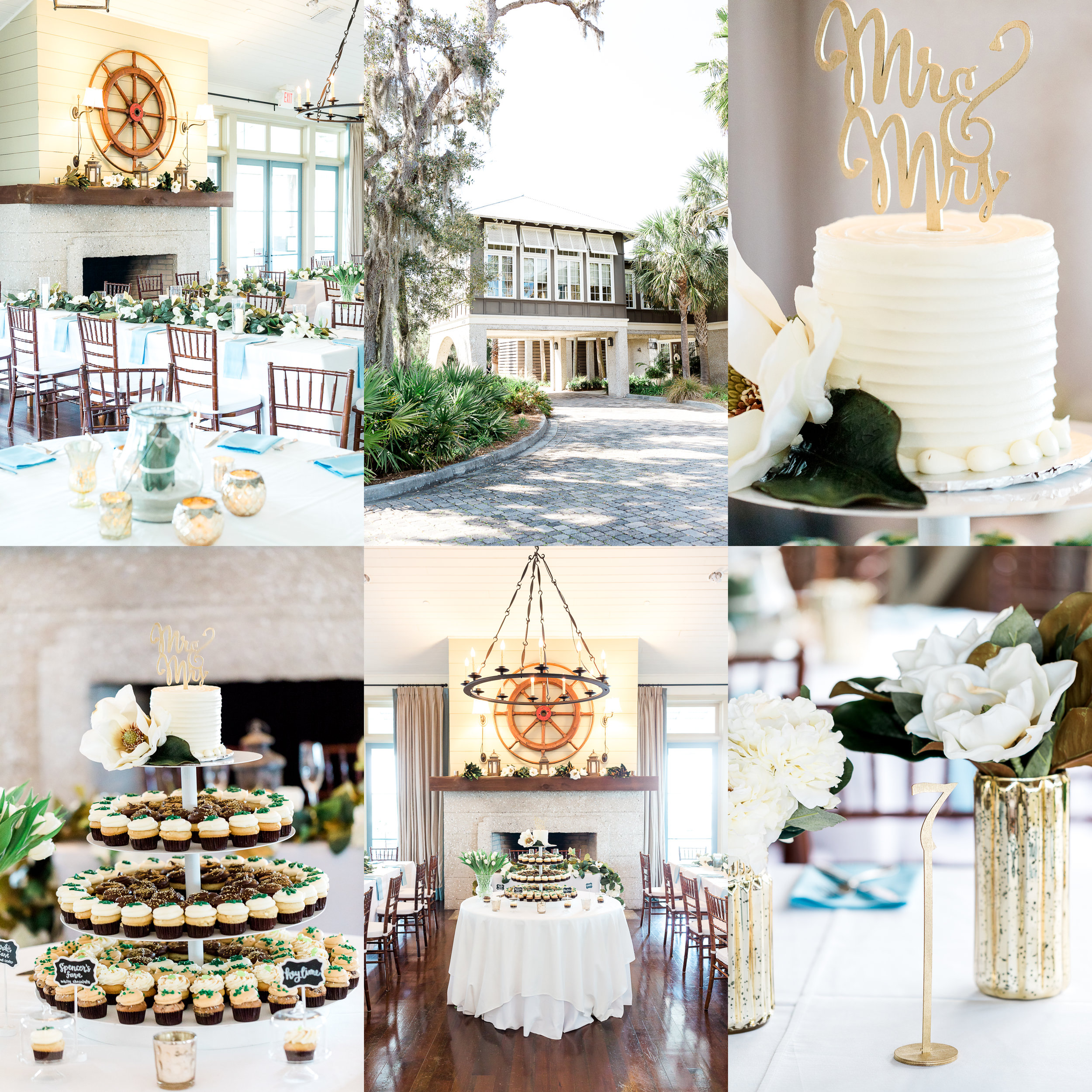 oyster bay yacht club wedding details and decor ideas_fernandina beach wedding