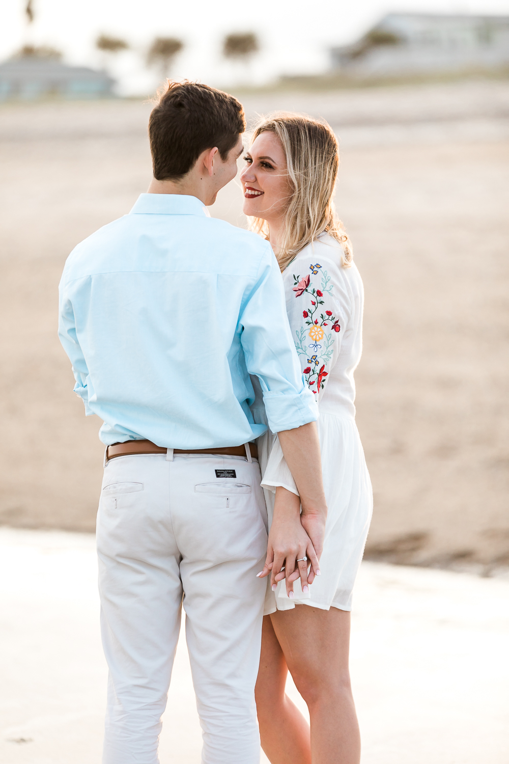 amelia island engagement pictures