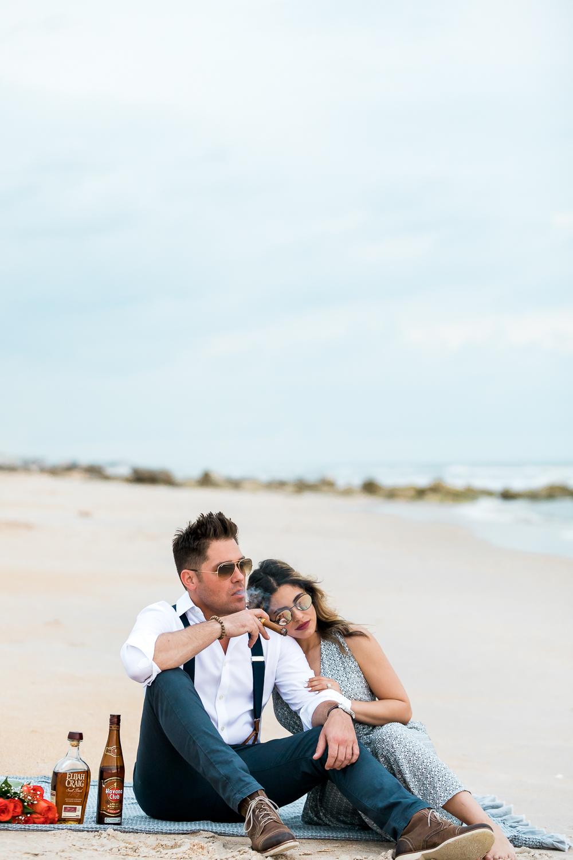 Ponte Vedra Beach engagement photographer