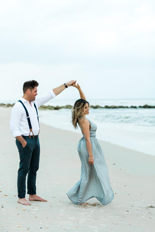 Amelia Island engagement photographer