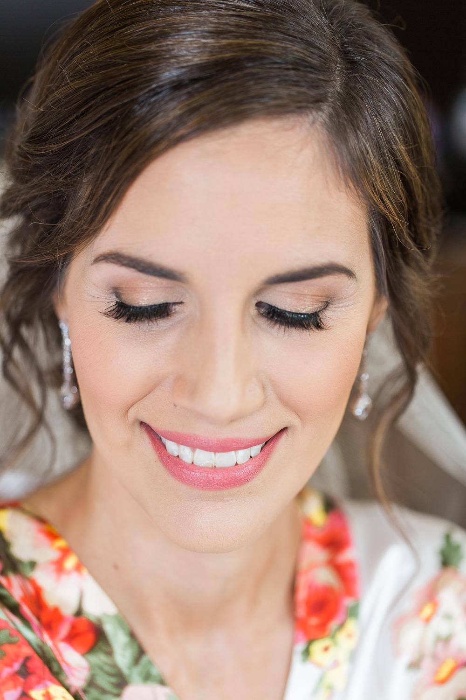 Bride's makeup by Sarina Durden