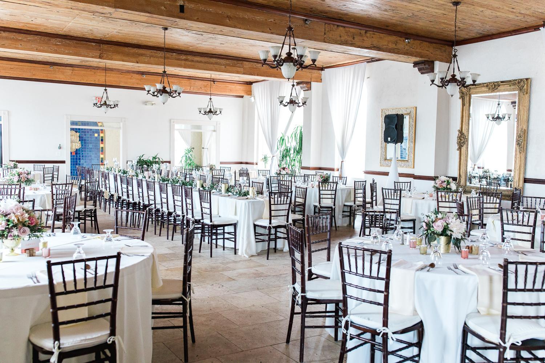 casa marina wedding reception in jacksonville beach