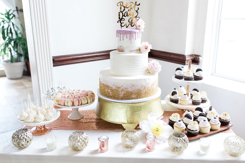 wedding cake by alleycakes in casa marina wedding