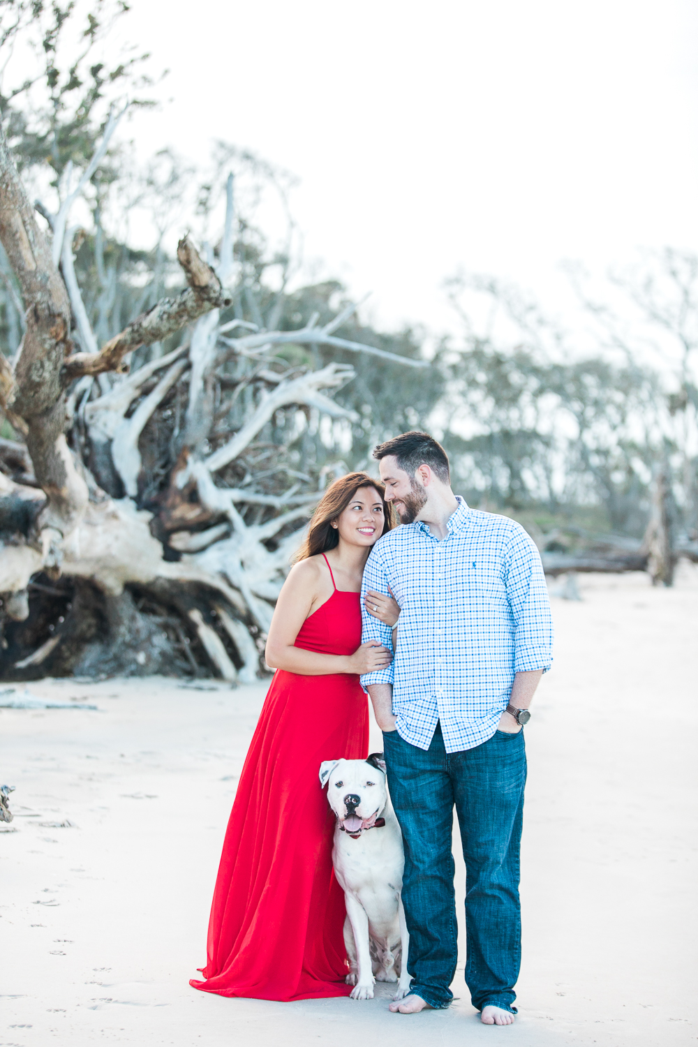 Big Talbot Island engagement picture ideas