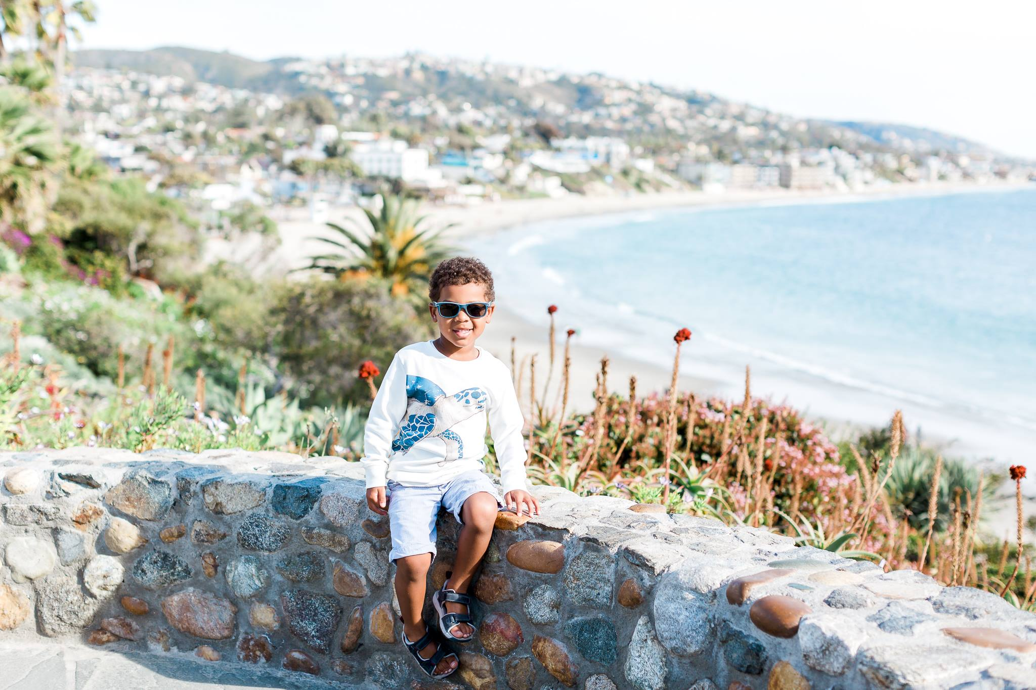 my son in Laguna Beach, California.jpg