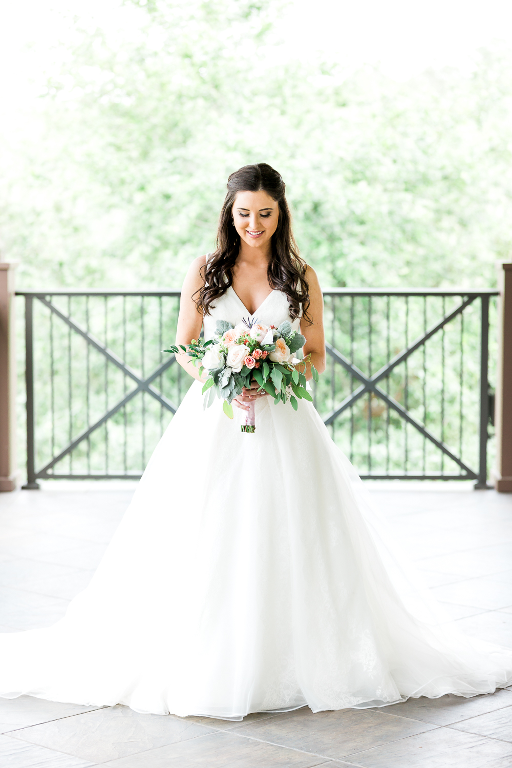 nocatee crosswater hall wedding with the bride and her bouquet in ponte vedra, fl