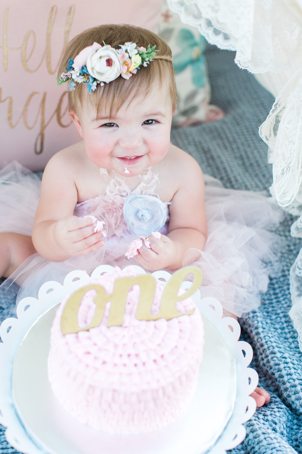 First birthday cake smash picture ideas in jacksonville fl