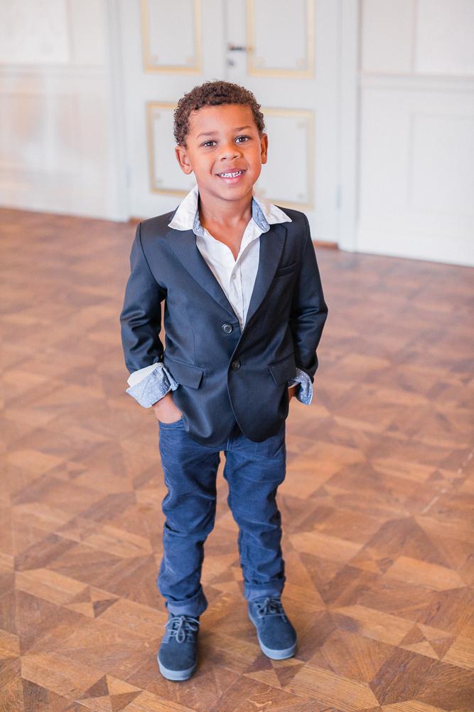 formal black jacket for boys - size 5T  $10