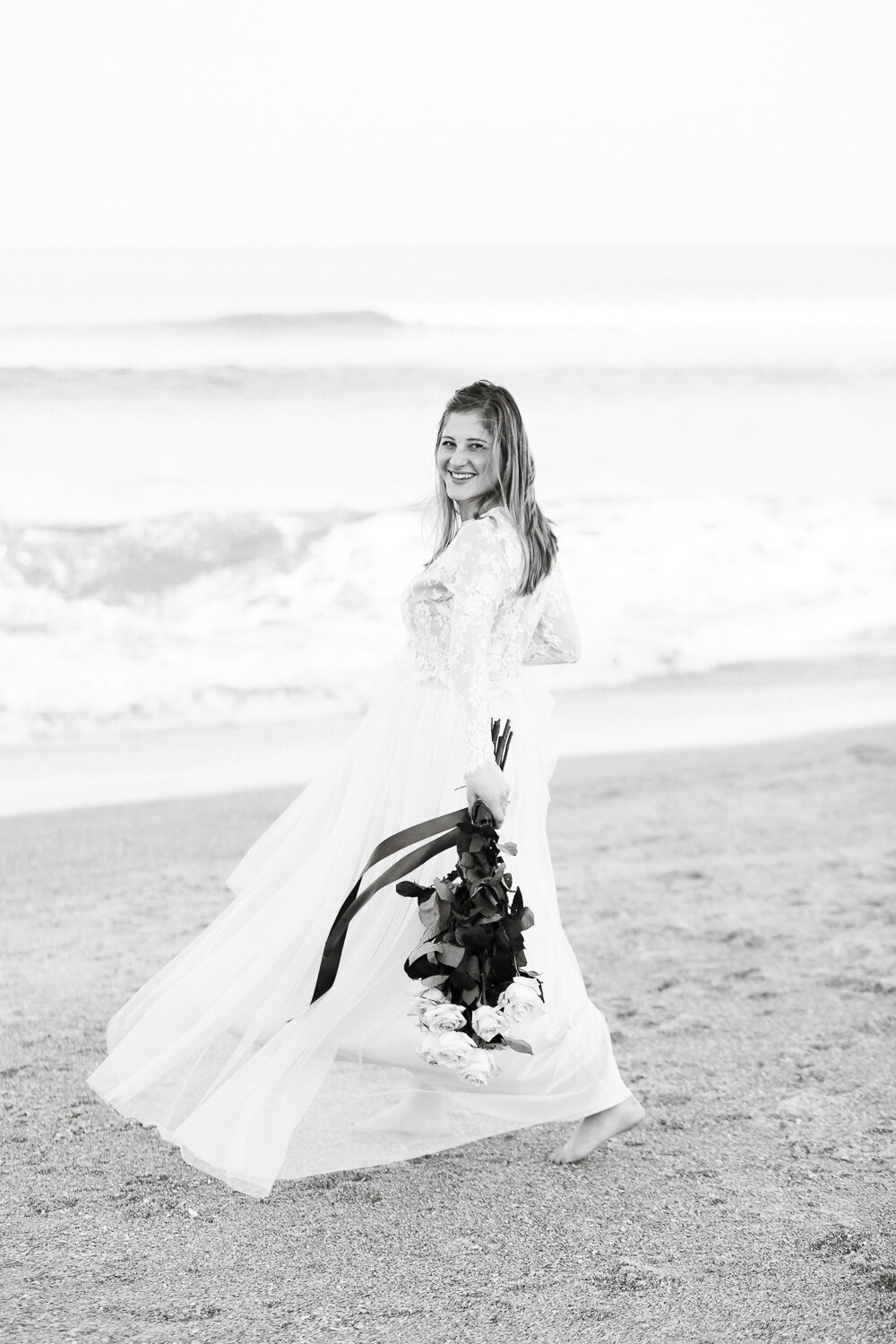 bride-to-be photoshoot in Guana beach - one of the best locations for taking pictures in Ponte Vedra area