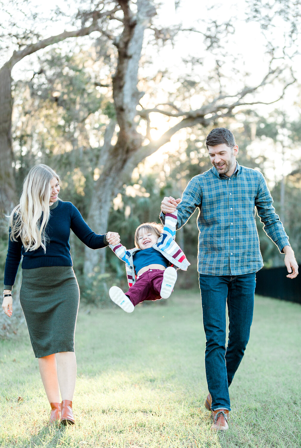 family photos in Nocatee's 20 mile park