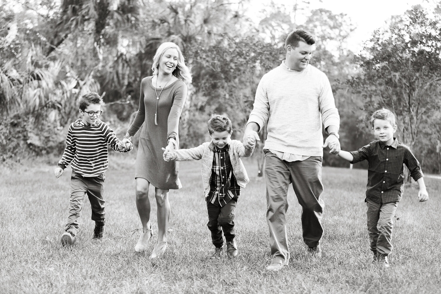 fall family photoshoot in Nocatee