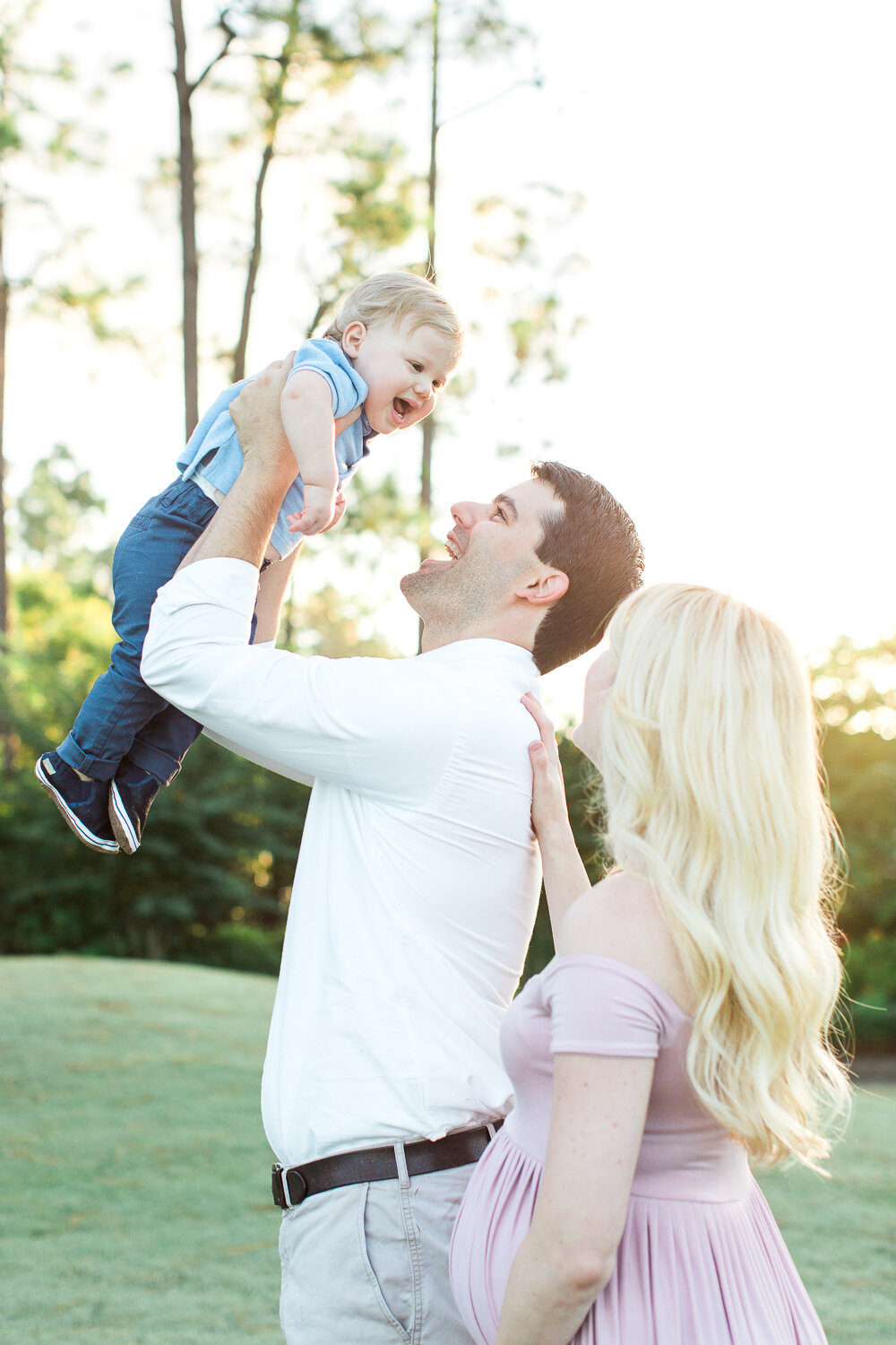 posing ideas for families in jacksonville golf and country club
