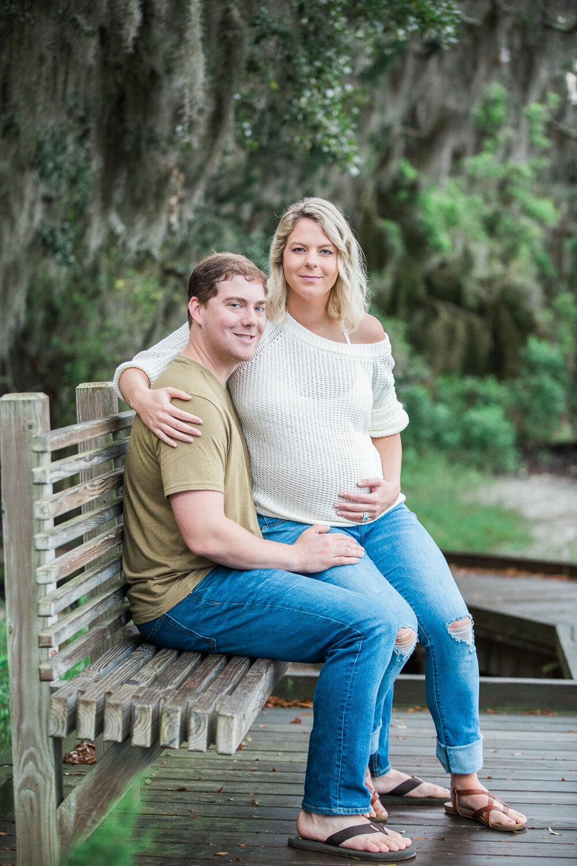 maternity photoshoot in amelia island