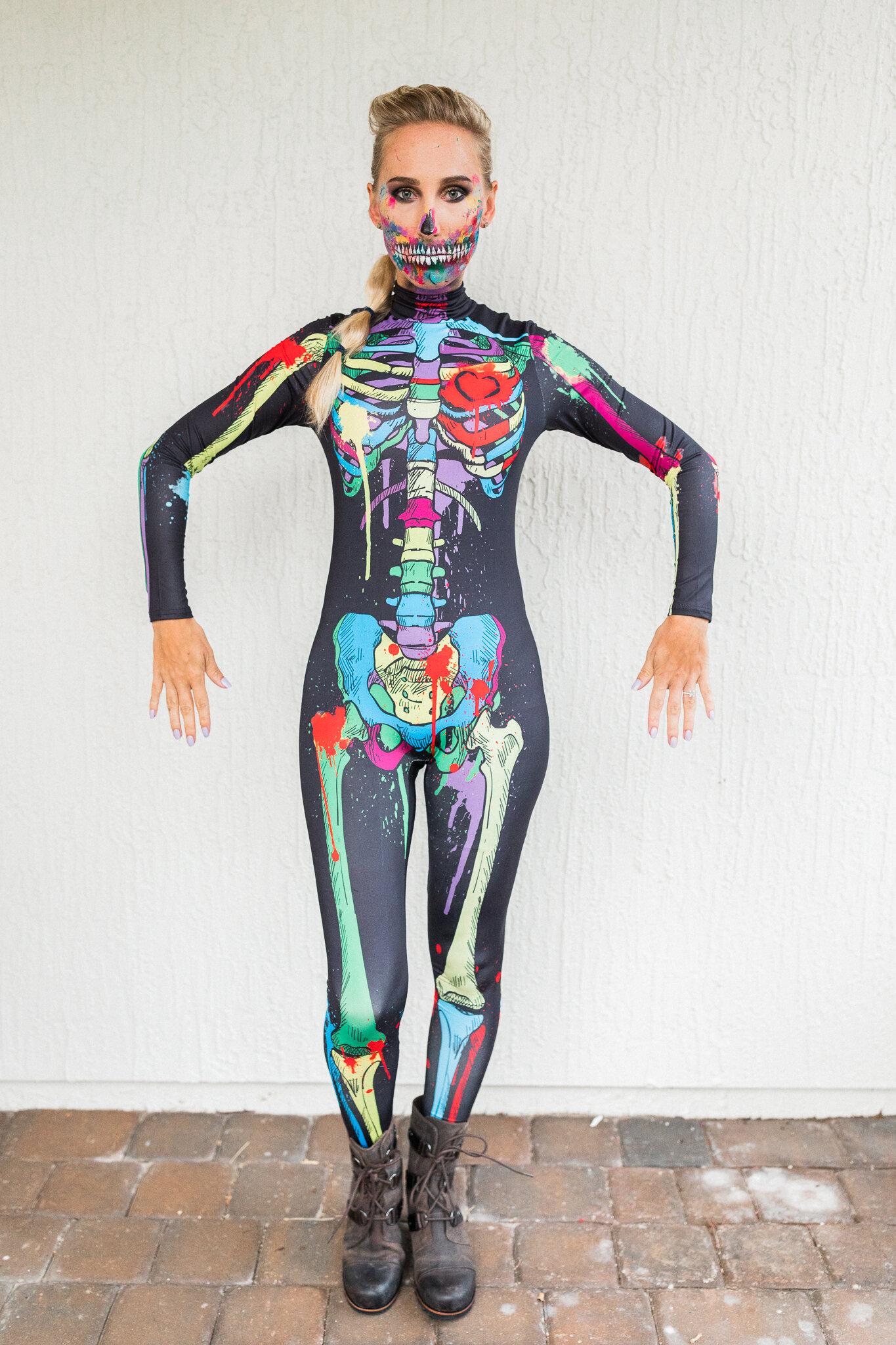 Halloween skeleton costume from Amazon